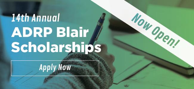 Blair Scholarships Banner