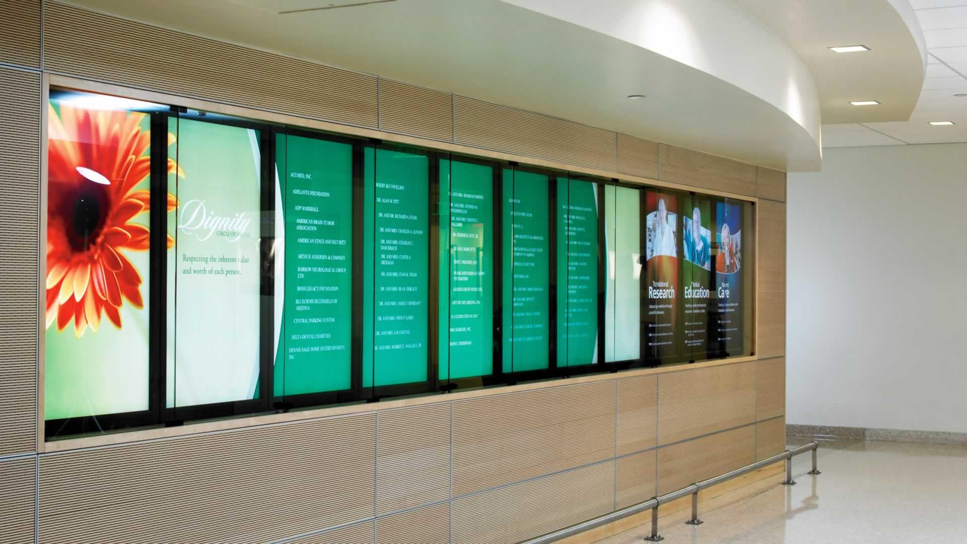 Digital Walls digital donor walls