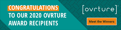 Ovrture Banner: Congratulations to our 2020 Ovrture Award Recipients: Meet the Winners